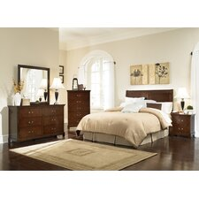 <strong>Wildon Home ®</strong> Tiffany Panel Headboard Bedroom Collection