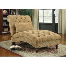 Chenille Chaise Lounge