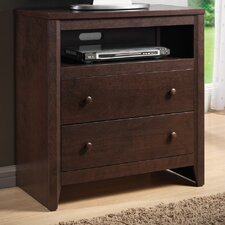 Harrison 2 Drawer Media Chest