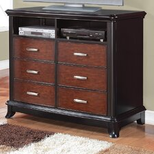 <strong>Wildon Home ®</strong> Neptune 6 Drawer Media Chest