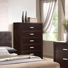 <strong>Wildon Home ®</strong> Norfolk 5 Drawer Chest