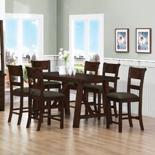 Julius 7 Piece Counter Height Dining Set