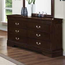 <strong>Wildon Home ®</strong> Montreal 6 Drawer Dresser