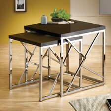<strong>Wildon Home ®</strong> 2 Piece Nesting Table
