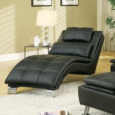 Black Indoor Chaise Lounges | Wayfair