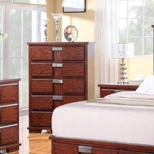 <strong>Wildon Home ®</strong> Manchester 5 Drawer Chest
