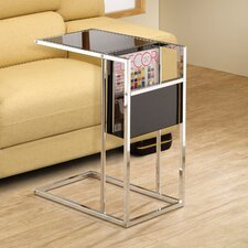 Magazine Rack End Table