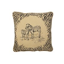 Zebra Euro Pillow (Set of 2)