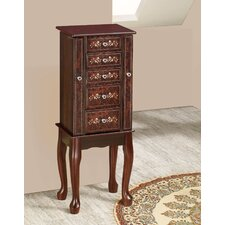 <strong>Wildon Home ®</strong> Jewelry Armoire with Mirror