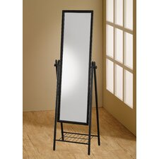 "<strong>Wildon Home ®</strong> 58"" H x 18"" W Standing Cheval Mirror"
