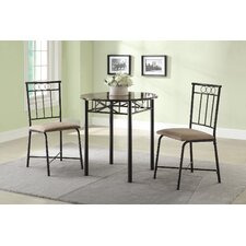 <strong>Wildon Home ®</strong> Mathew 3 Piece Dining Set