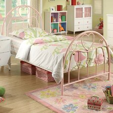 <strong>Wildon Home ®</strong> Romeo Twin Metal Bed