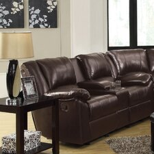 Becco Double Reclining Gliding Loveseat