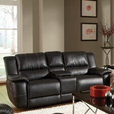 Robert Double Reclining Gliding Loveseat