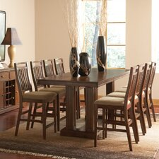 <strong>Wildon Home ®</strong> Dorthy 9 Piece Counter Height Dining Set