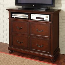 <strong>Wildon Home ®</strong> Nicole 4 Drawer Media Chest