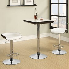 3 Piece Bar Table and Stool Set