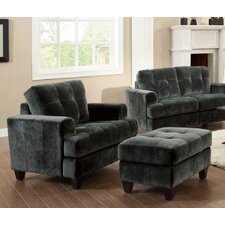 Buxton Arm Chair and Ottoman