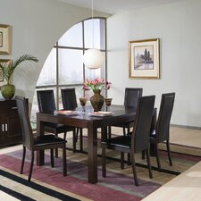 <strong>Wildon Home ®</strong> Menifee 7 Piece Dining Table Set