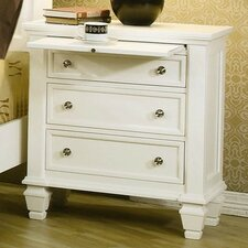 <strong>Wildon Home ®</strong> Glenmore 3 Drawer Nightstand