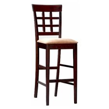 "Derby 30"" Bar Stool in Deep Cappuccino"