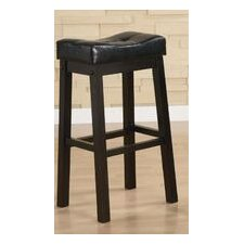 "Beaver Cove 29"" Barstool in Warm Brown Cherry"