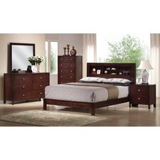 Josco Storage Headboard Platform Bedroom Collection
