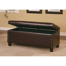 <strong>Wildon Home ®</strong> Broadbent Leather Storage Bench