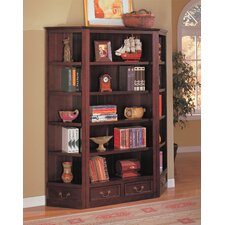 St. Paul Bookcase Wall Unit in Cappuccino
