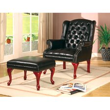 <strong>Wildon Home ®</strong> Walterville Chair and Ottoman
