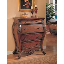 <strong>Wildon Home ®</strong> Yamhill Secretary 5 Drawer Bombe Chest