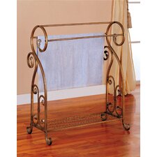 <strong>Wildon Home ®</strong> Tolleson Towel Rack in Bronze