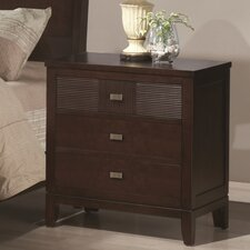 Hidalgo 3 Drawer Nightstand