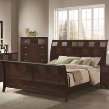 <strong>Wildon Home ®</strong> Hidalgo Queen Sleigh Bed