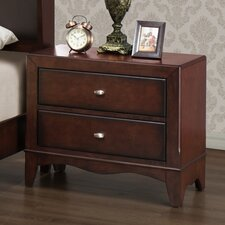 <strong>Wildon Home ®</strong> Landsberg 2 Drawer Nightstand