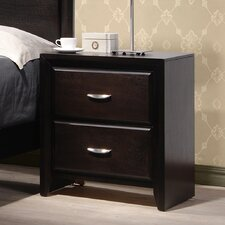 <strong>Wildon Home ®</strong> Adele 2 Drawer Nightstand