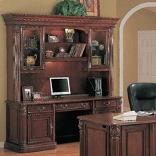 Tucson Credenza Desk with Hutch