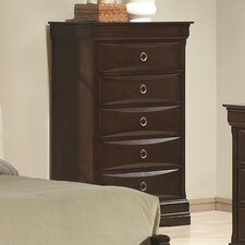 <strong>Wildon Home ®</strong> Lexington 5 Drawer Chest
