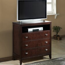 Hidalgo 3 Drawer Media Chest