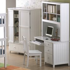 "Avalon 47"" W Computer Desk with Optional Hutch"