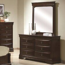 <strong>Wildon Home ®</strong> Lexington 6 Drawer Dresser