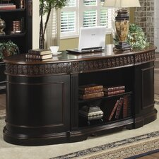 <strong>Wildon Home ®</strong> Troy Oval Executive Desk