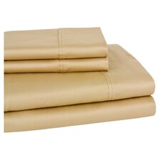 300 Thread Count Wrinkle Resistant Sateen Sheet Set