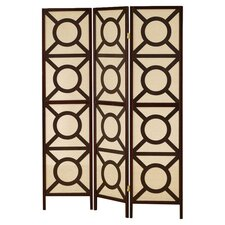 "<strong>Wildon Home ®</strong> 70.25"" x 52"" Folding 3 Panel Room Divider"