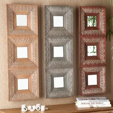 "<strong>Wildon Home ®</strong> 36"" H x 36"" W Mirror Set (Set of 3)"