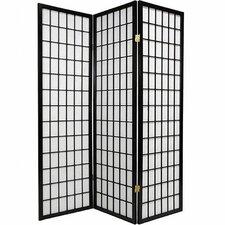 "70"" x 51"" Shoji 3 Panel Room Divider"
