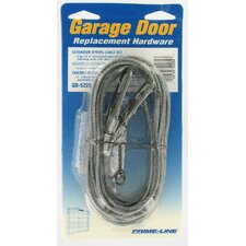 Extension Spring Cable Set For Garage Door (Set of 2)