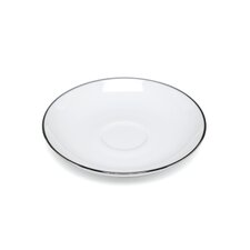 "Mami Platinum 4.3"" Saucer for Mocha Cup (Set of 6)"