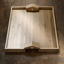 Quattro Muri E Due Case Rectangular Serving Tray