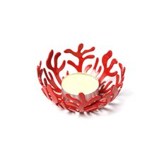 <strong>Alessi</strong> Mediterraneo by Emma Silvestris 18 / 10 Stainless Steel Tealight Candle Holder